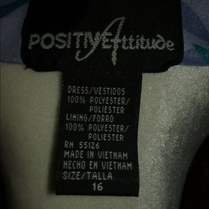 Positive Attitude Dresses - Positive Attitude Dress